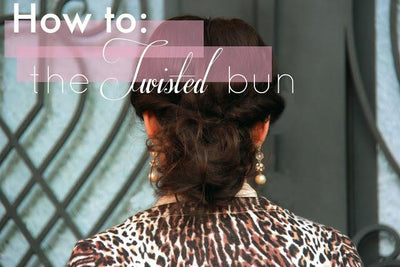 How to: Twisted bun...