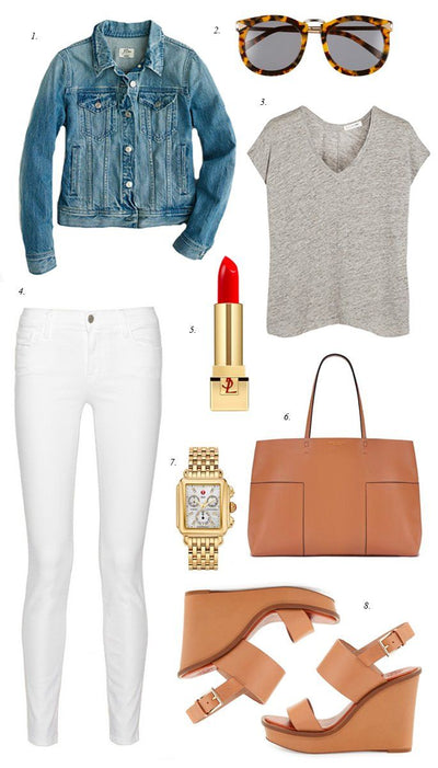 Inspiration Wednesday: Casual Spring Look
