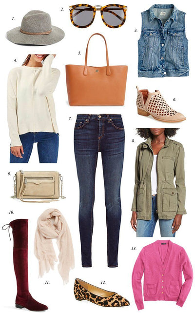 Inspiration Wednesday: Fall Essentials...