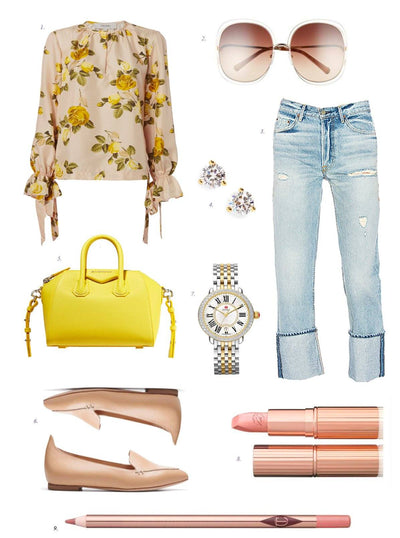 Inspiration Wednesday: Pop of Yellow...