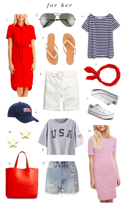 Inspiration Wednesday: Red, White and Blue...