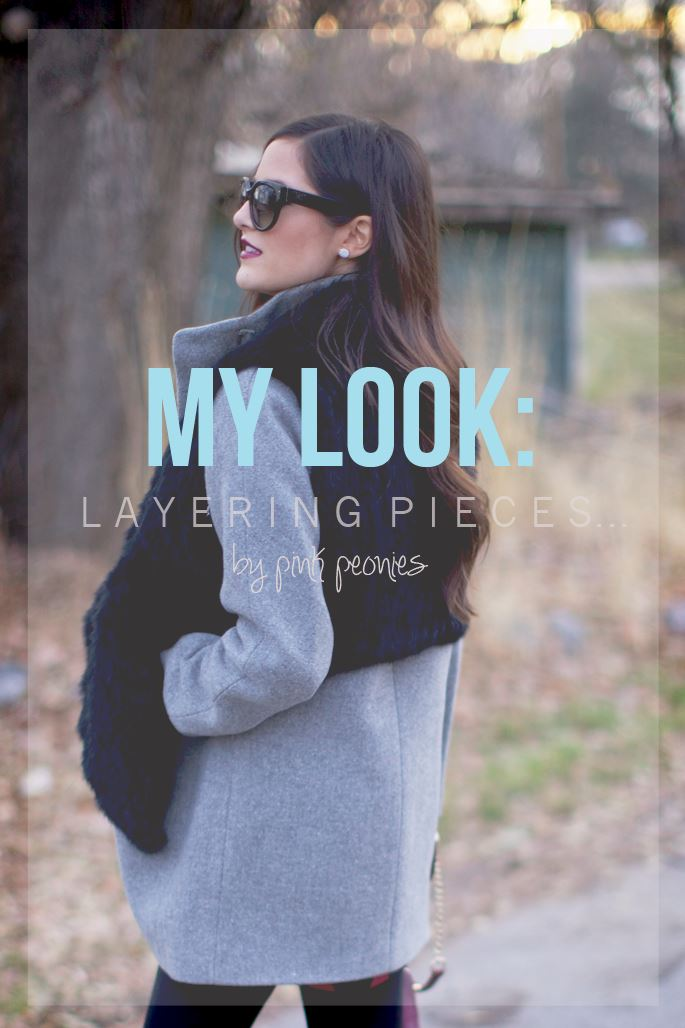 layering pieces...
