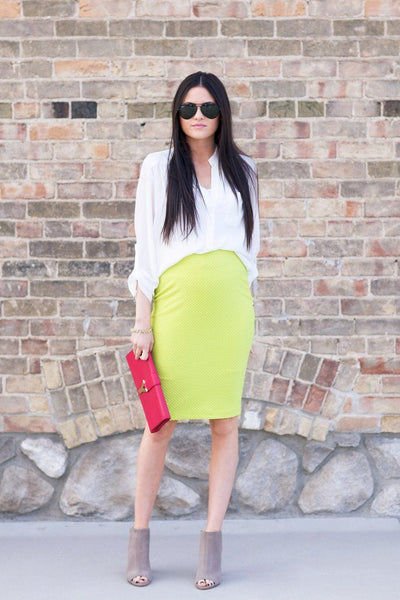 Pop of Chartreuse…