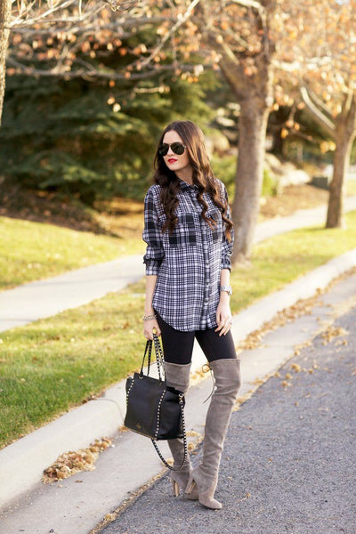 Printed Plaid…