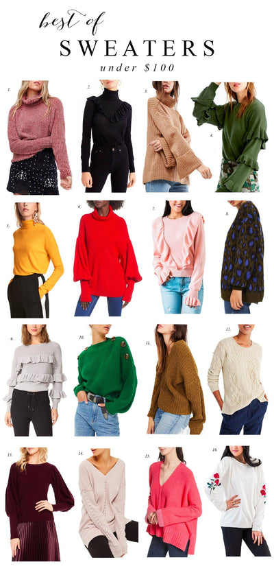 Sweaters Under $100 + Q&A...