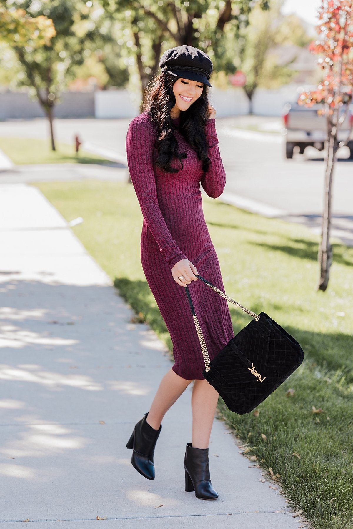 The Perfect Sweater Dress...