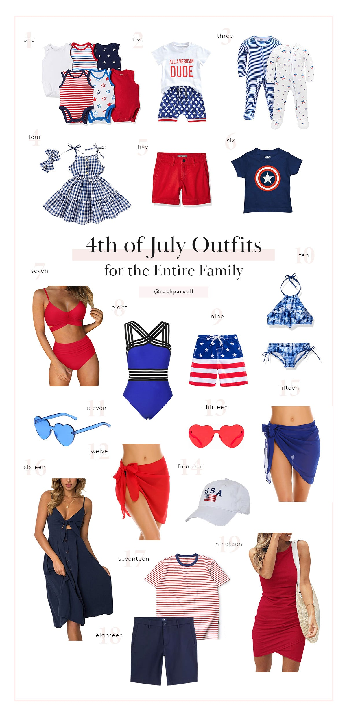 4th of July Party Outfit Ideas