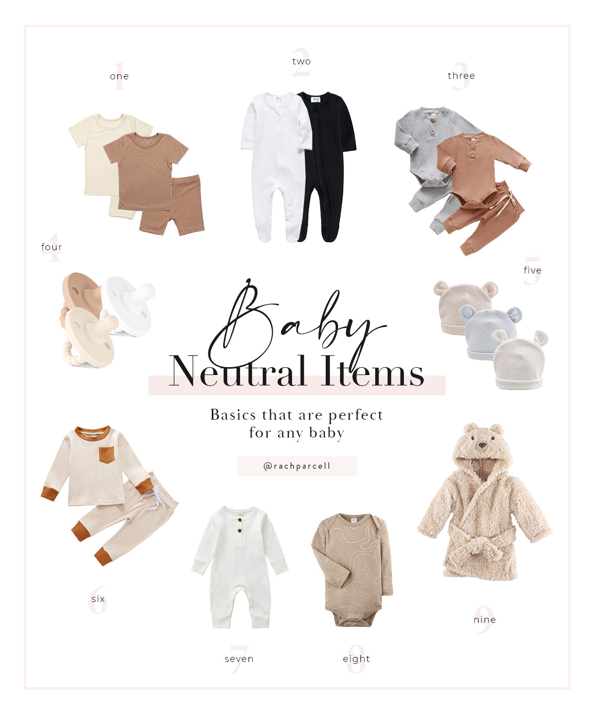 Rachel Parcell Amazon Baby Outfits