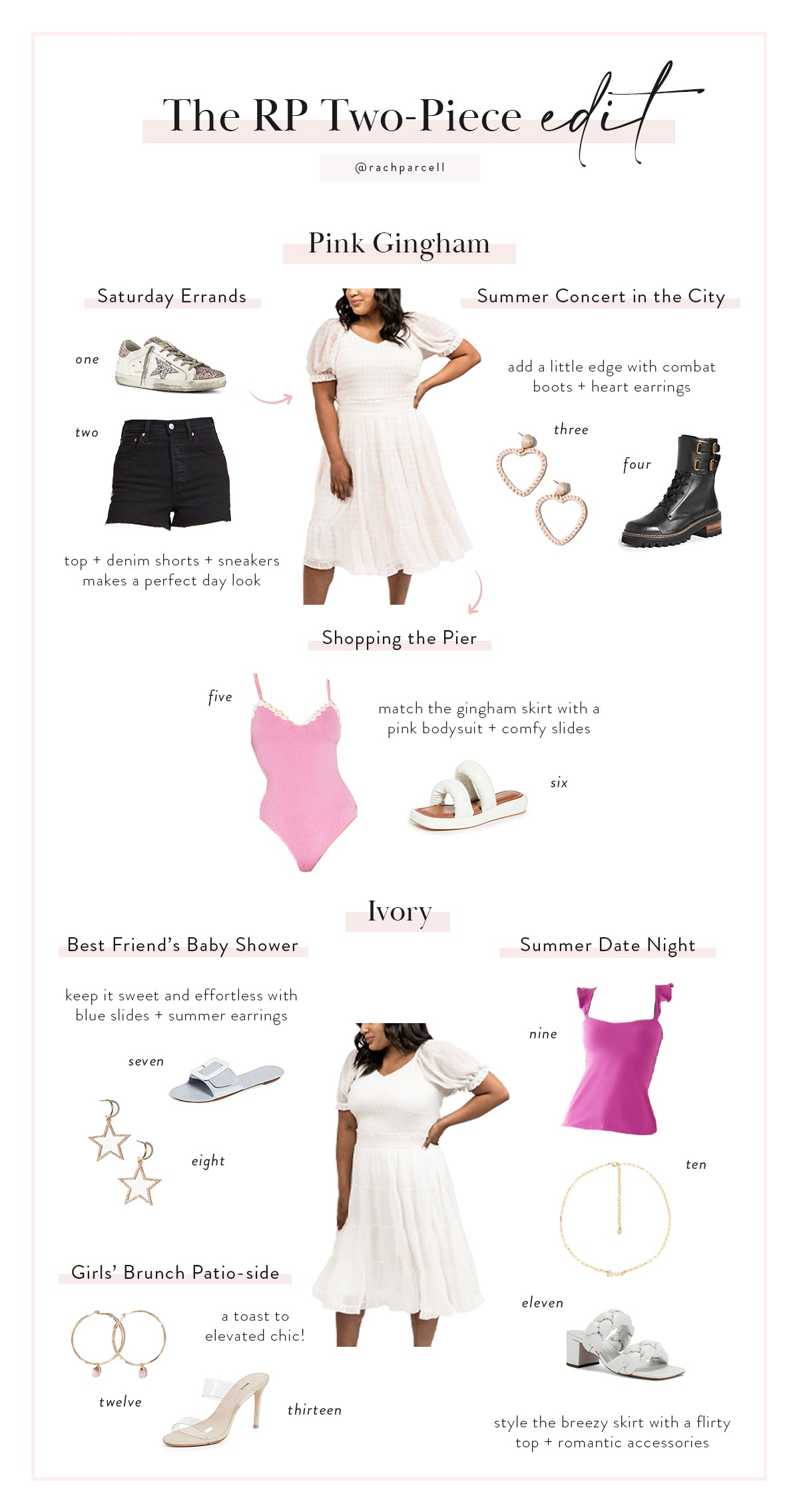 RP Two Piece Styling Ideas