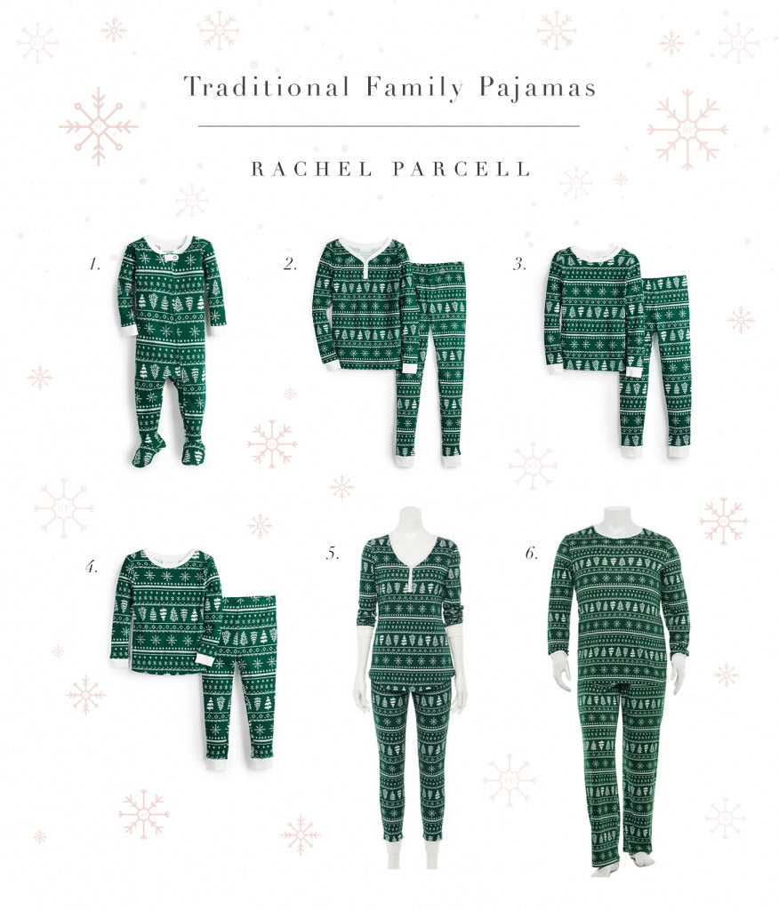 Matching PJs for Holidays