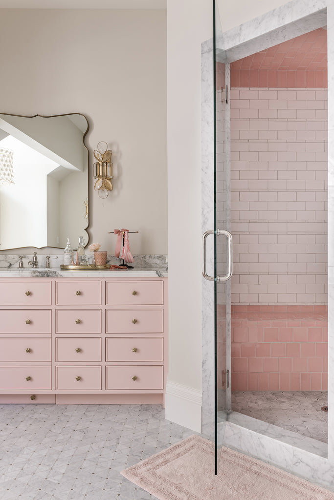 Rachel Parcell Bathroom Reveal Shower