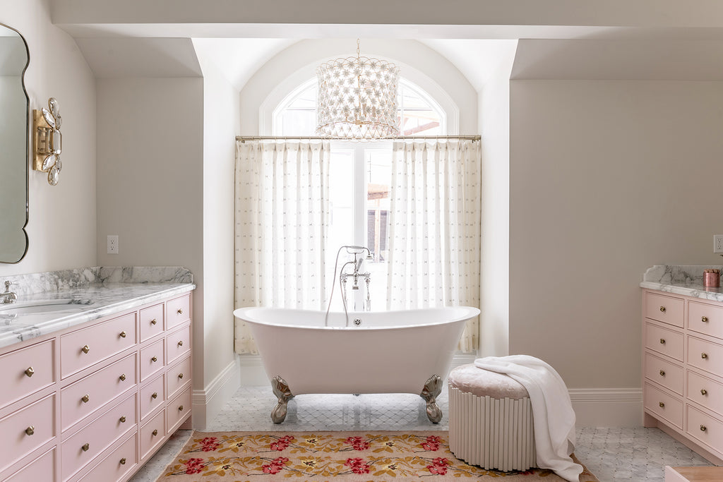 Rachel Parcell Bathroom Reveal