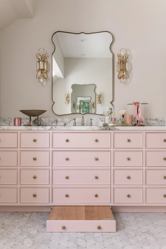 Rachel Parcell Bathroom Reveal Vanity
