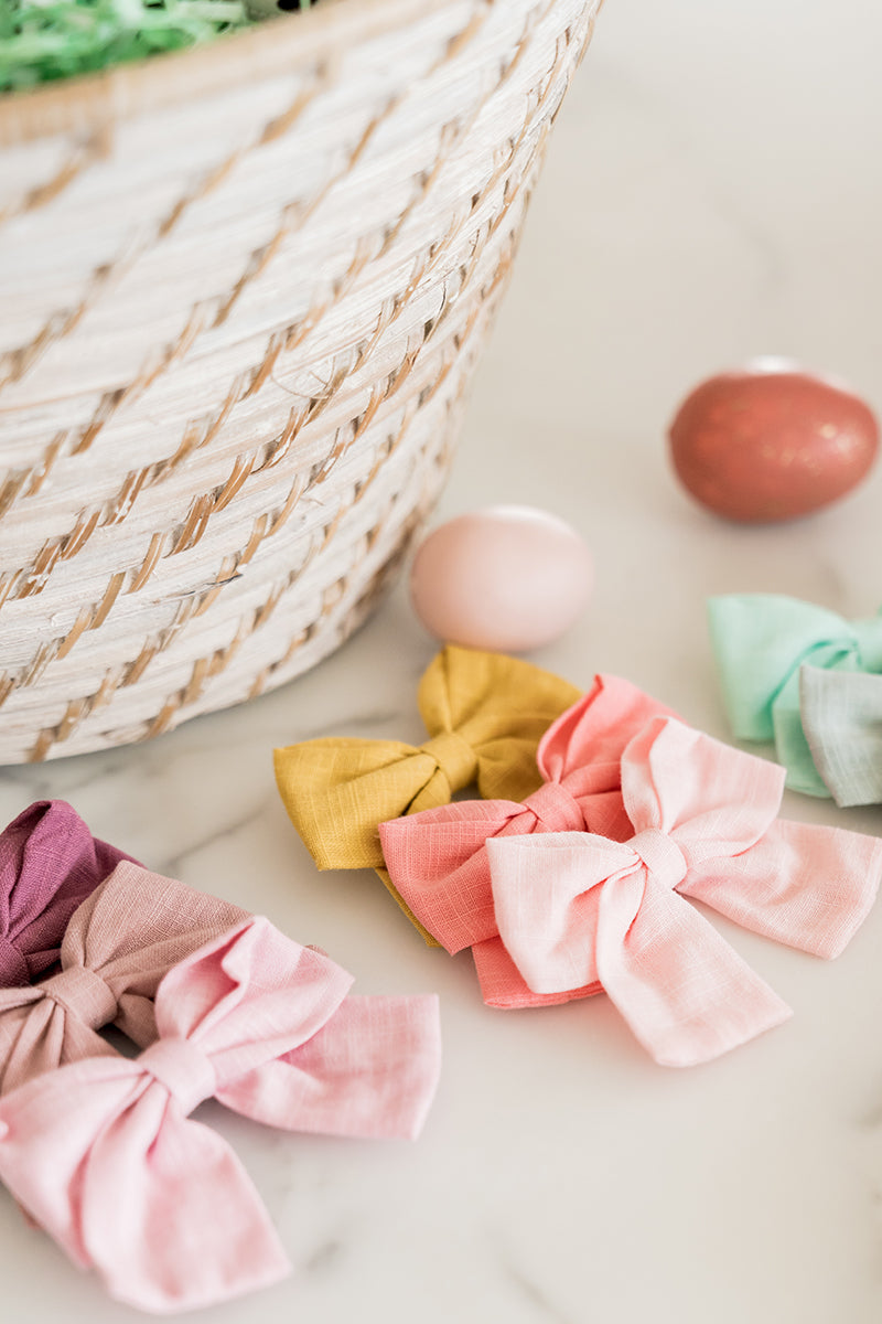 Rachel Parcell Easter Bows