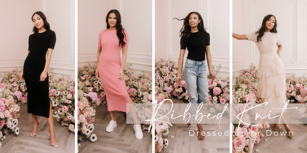 Rachel Parcell Ribbed Trend Forecast