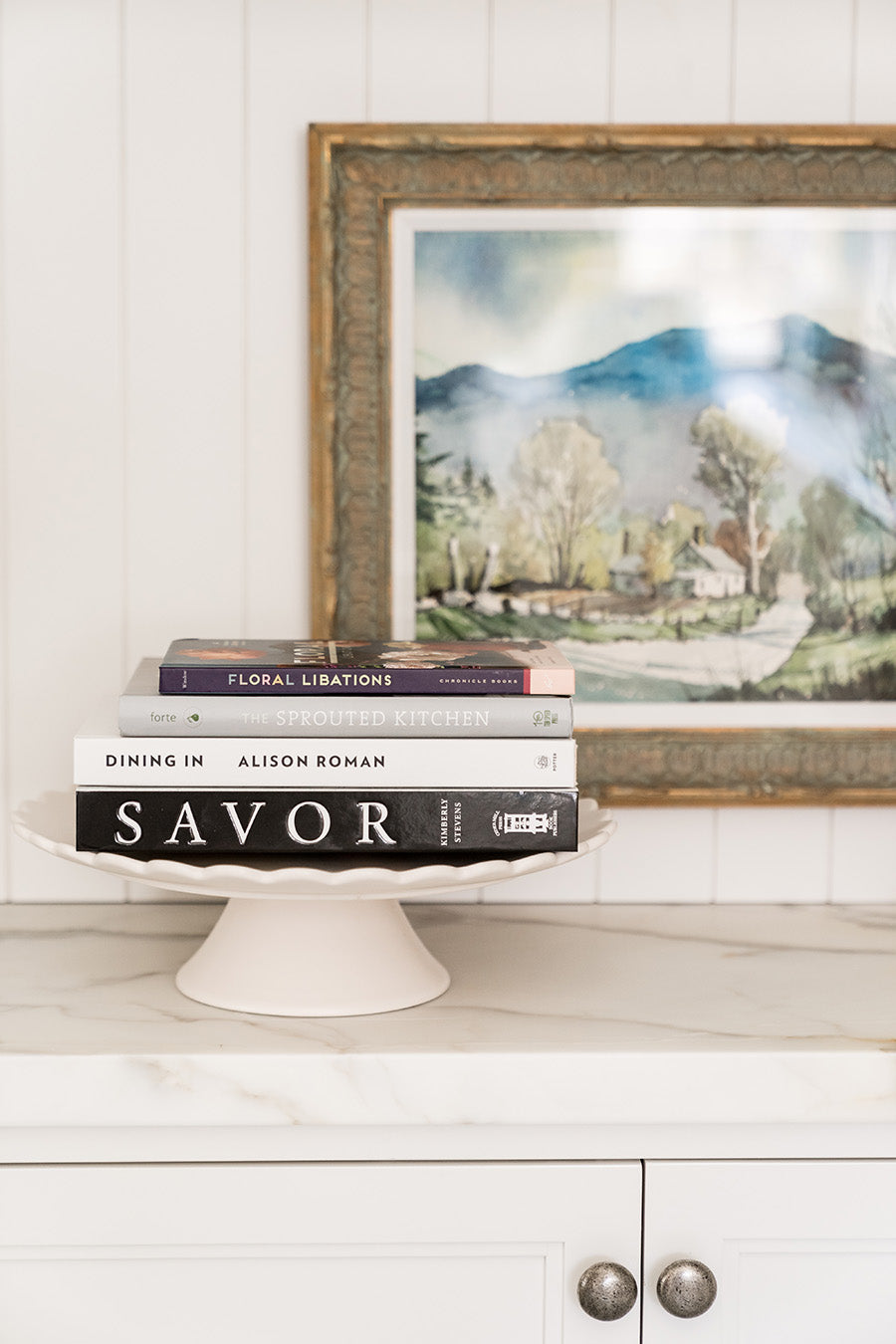 Rachel Parcell Cake Stand Books