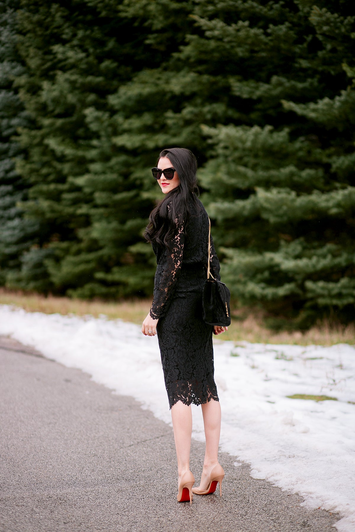 black-lace-top-and-skirt-2