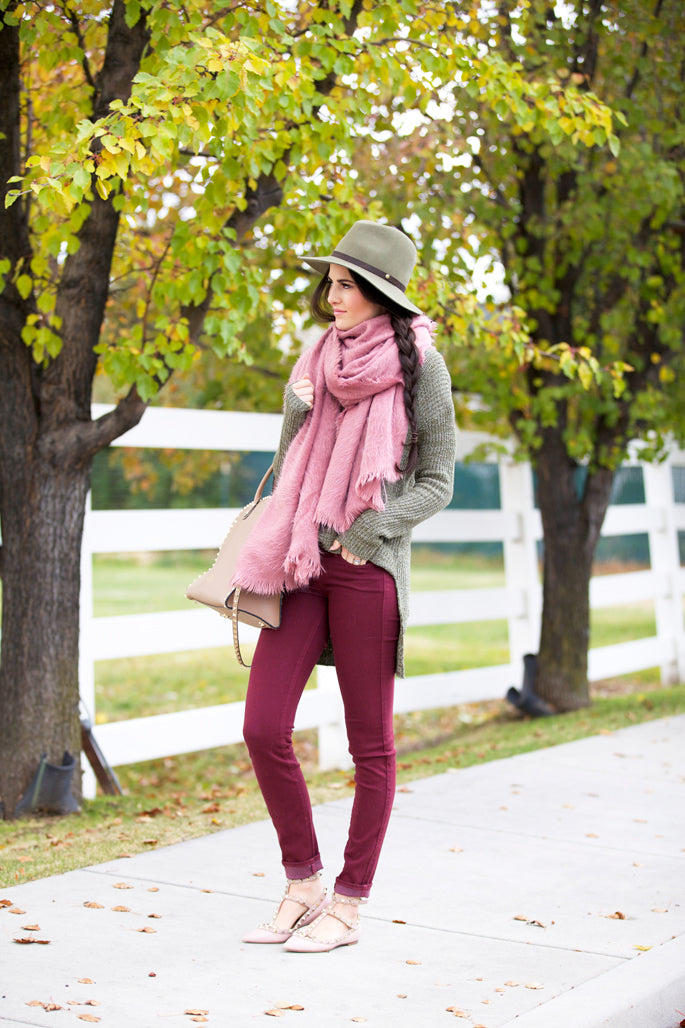 fall-time-outfit-ideas-scarf