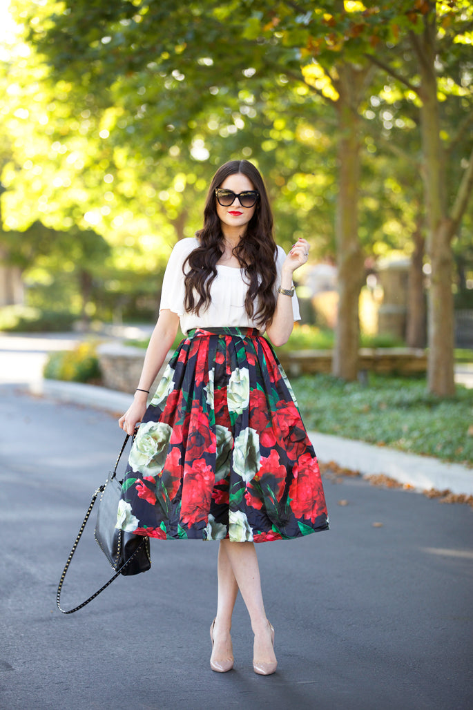 floral-midi-skirt-chic-wish