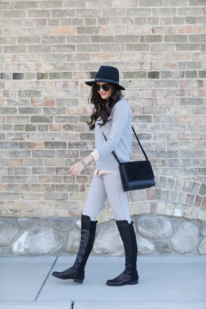 grey-cashmere-sweater-for-fall