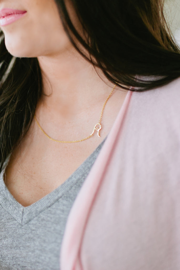initial-delicate-gold-necklace