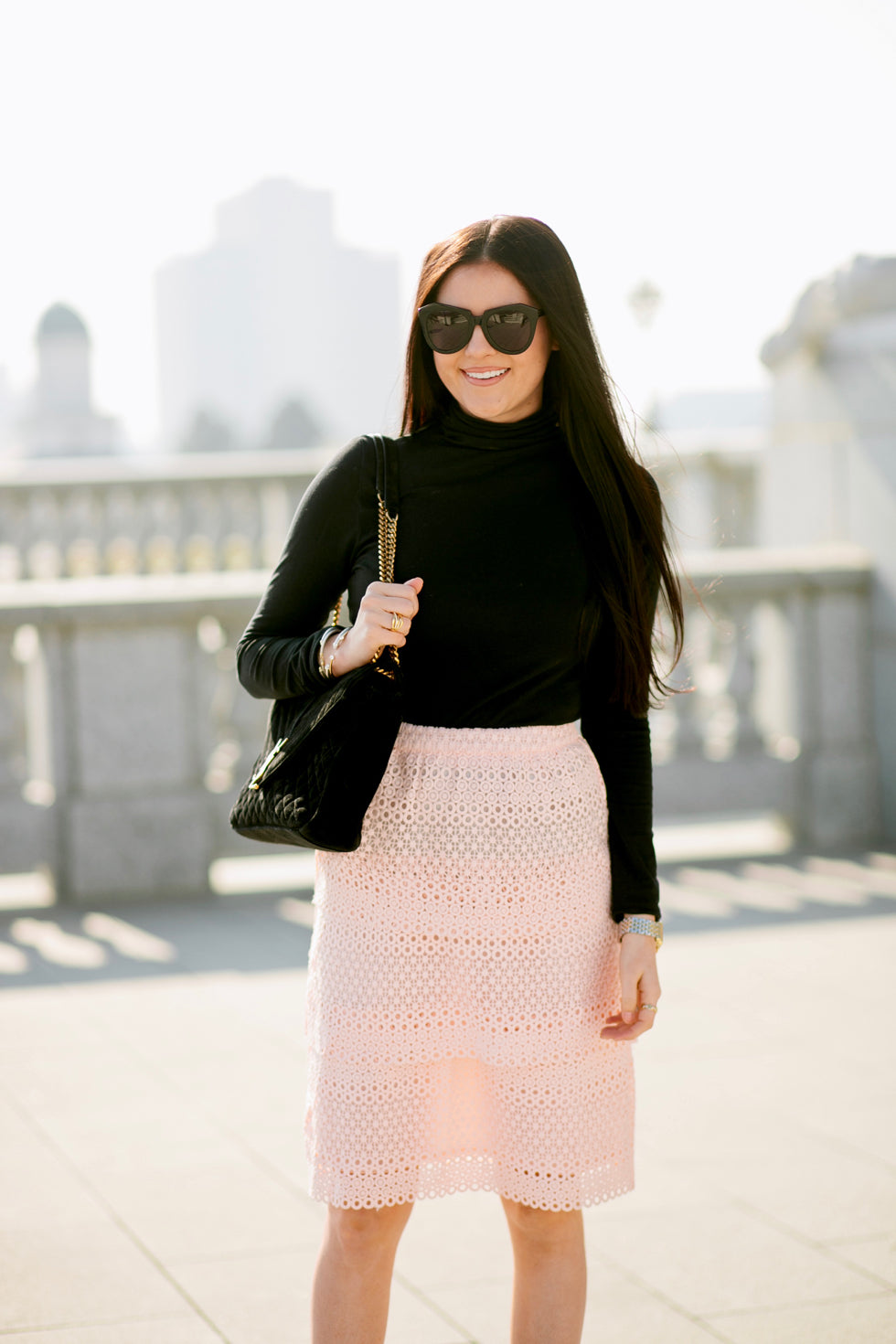 pink-lace-skirt-rachel-parcell-clothing-line - 6