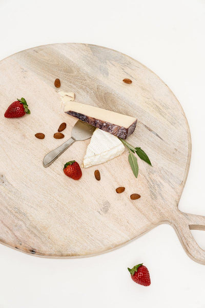 Wood Serving Board Tabletop Rachel Parcell, Inc.