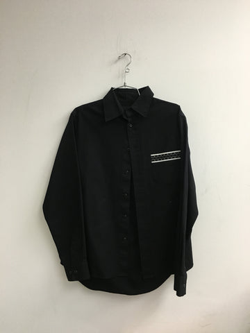 OriginalFake Kaws Chomper Button Up
