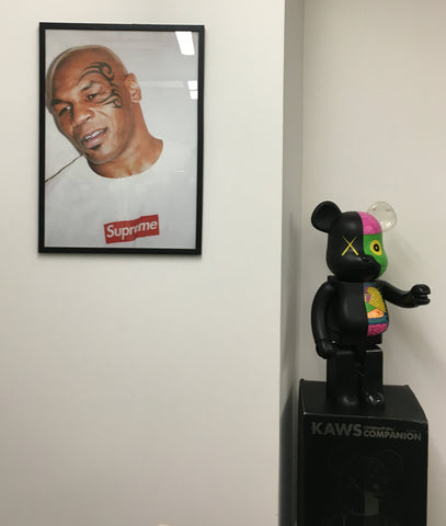 Supreme Tyson x Terry Richardson Framed Poster
