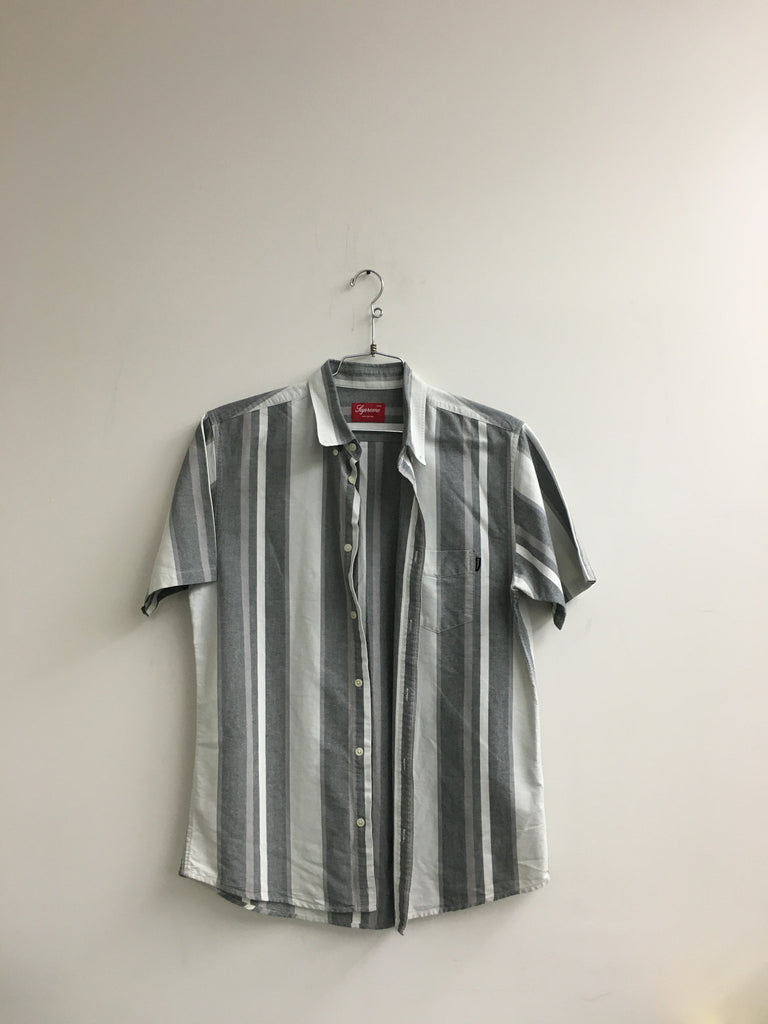 Supreme SS Stripe Button Up