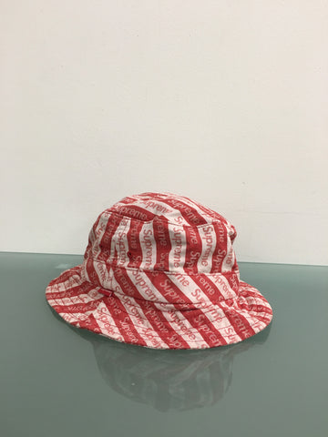 Supreme All Over Logo Crusher Hat