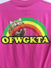 OFWGKTA Cat Rainbow Tee