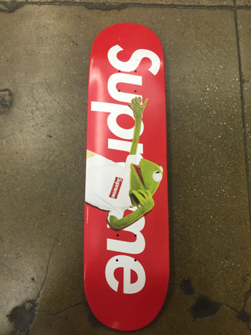 Supreme Kermit x Terry Richardson Deck Red