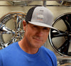 California Bear Foose Flexfit Trucker Heather/Black Cap