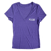 Girly Foose Tee - Heather Purple