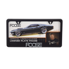 Foose License Plate Frame - Black