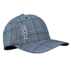 Foose Baseball Cap Plaid - Black/White
