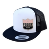Girly Vintage Foose Classic Trucker Snapback - White/Black