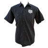 Hotrod Button Up Shop Shirt - Black