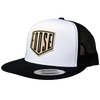 Traditional Foose Classic Trucker Snapback - Black/White