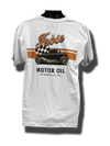 Motor Oil Tee - Light Heather Grey