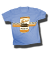 Youth Motor Oil Tee - Blue