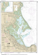 Nautical Chart of Plymouth, Kingston, and Duxbury Bays