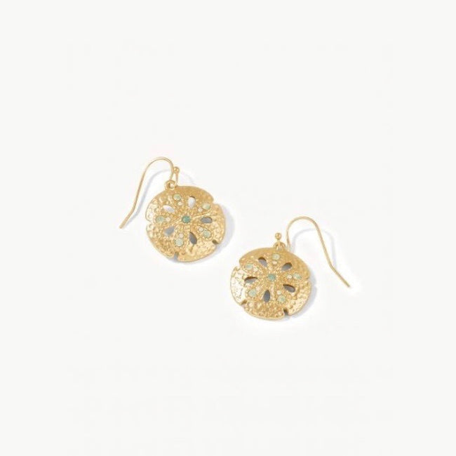Sand Dollar Earrings Opal