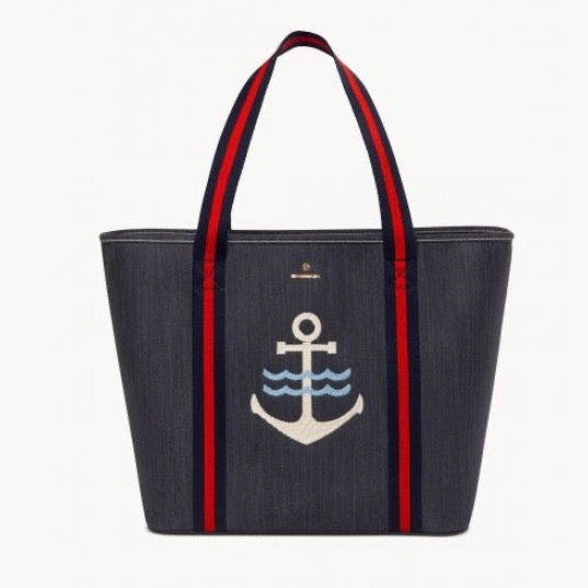 Denim Anchor Cooler