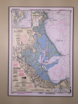 Duxbury, Kingston, Plymouth Mini Chart Map