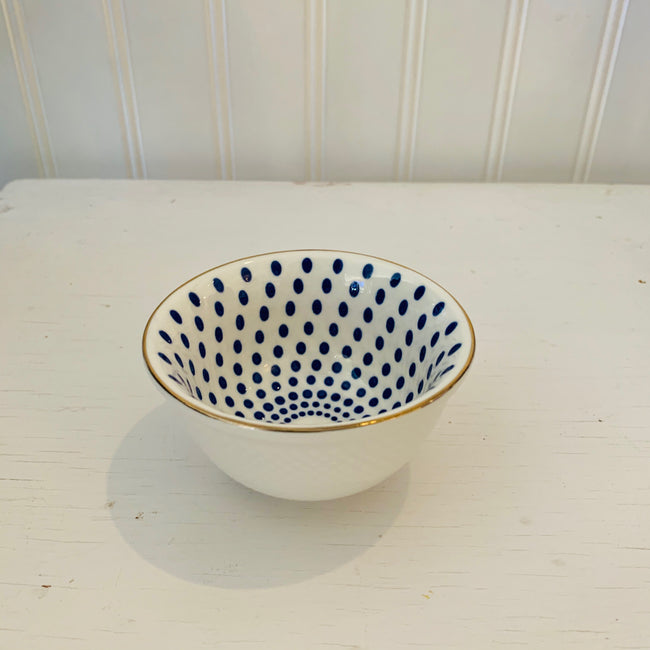 Blue Mini Condiment Bowls