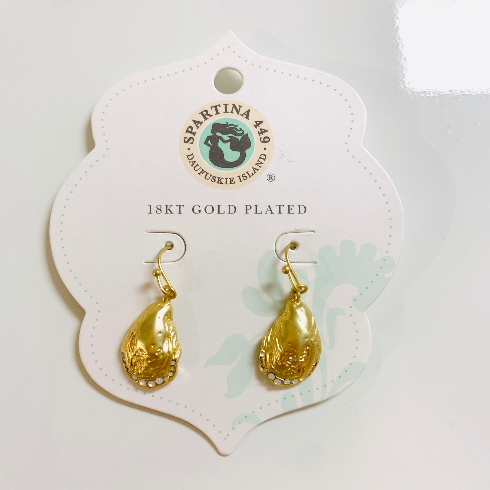 Oyster Drop Earrings