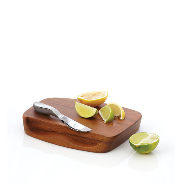 Blend Bar Board with Knife