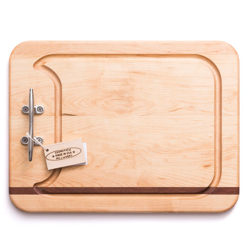 Custom Cutting Board w/ Cleat Handles- Medium